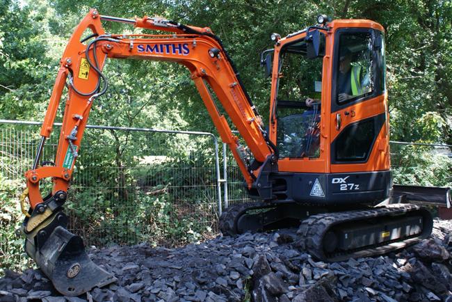 New Doosan Mini-Excavators for Smiths Plant Hire Fleet